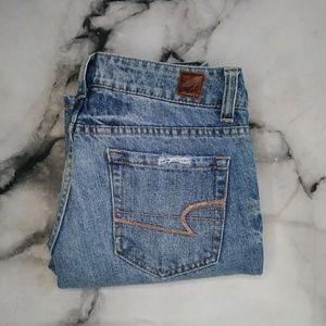 True Vintage American Eagle Fav Boyfriend Jeans 6